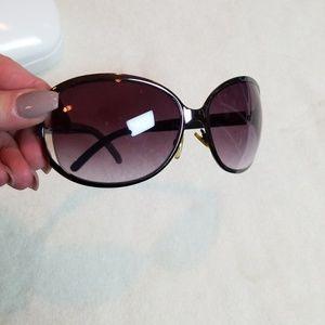 Calvin Klein gunmetal sunglasses